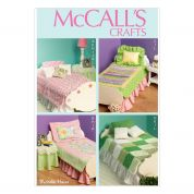 McCalls Crafts Sewing Pattern 6718 Soft Furnishings & Homeware for Dolls House