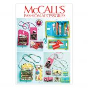 McCalls Accessories Sewing Pattern 6768 Phone Purse, Rewards Card Wallets & Coupon Clutches