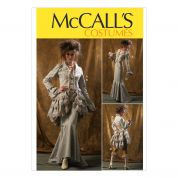 McCalls Ladies Sewing Pattern 6770 Vintage Style Jacket, Bustle/Capelet, Skirt & Pants