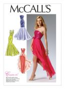 McCalls Ladies Sewing Pattern 6838 Special Occasion Evening Dresses