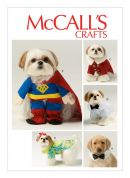 McCalls Pets Sewing Pattern 6862 Pet Clothes & Costumes