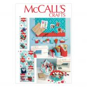 McCalls Homeware Easy Sewing Pattern 6909 Organizer & Storage Bins