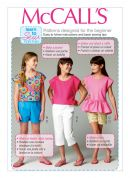 McCalls Childrens Easy Learn to Sew Sewing Pattern 6917 Tops, Shorts & Pants