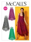 McCalls Ladies Easy Sewing Pattern 6954 Casual Summer Dresses