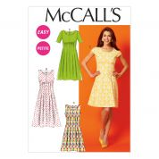 McCalls Ladies Easy Sewing Pattern 6958 Dresses with Front & Back Tucks