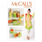 McCalls Ladies Easy Sewing Pattern 6978 Apron & Kitchen Accessories