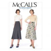McCalls Ladies Sewing Pattern 6993 Vintage Style Skirts & Belt