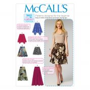 McCalls Ladies Learn to Sew Easy Sewing Pattern 6994 Skirts