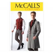 McCalls Mens Sewing Pattern 7003 Historical Costume