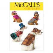 McCalls Pets Sewing Pattern 7004 Novelty Dog Coats