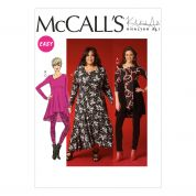 McCalls Ladies Easy Sewing Pattern 7028 Tunic Tops, Dress & Leggings