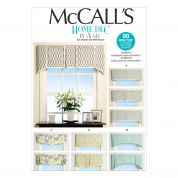 McCalls Homeware Sewing Pattern 7033 Window Treatments