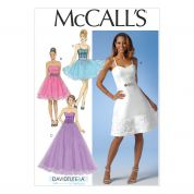 McCalls Ladies Sewing Pattern 7049 Fancy Party Dresses