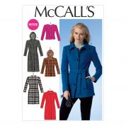 McCalls Ladies Sewing Pattern 7058 Jackets, Coats & Belt