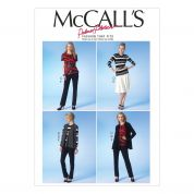 McCalls Ladies Sewing Pattern 7059 Capsule Wardrobe