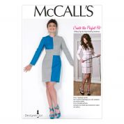 McCalls Ladies Sewing Pattern 7089 Get the Right Fit for Dresses