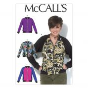 McCalls Ladies Sewing Pattern 7100 Semi Fitted Unlined Zip Up Jackets
