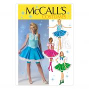 McCalls Ladies Sewing Pattern 7101 Elsa Ice Princess Inspired Costume