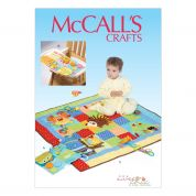 McCalls Baby & Toddlers Sewing Pattern 7104 Play Quilt & Mats