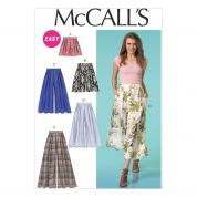 McCalls Ladies Easy Sewing Pattern 7131 Loose Fitting Shorts & Pants