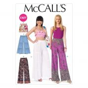 McCalls Ladies Easy Sewing Pattern 7164 Shorts & Pants