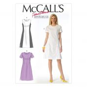 McCalls Ladies Sewing Pattern 7169 Panelled Dresses