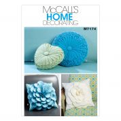McCalls Homeware Sewing Pattern 7174 Decorative Cushions in 4 Styles
