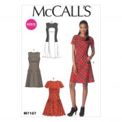 McCalls Ladies Sewing Pattern 7187 Dresses in 4 Styles