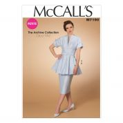 McCalls Ladies Sewing Pattern 7190 Vintage Style Tunic, Skirt & Belt
