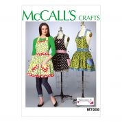 McCalls Ladies Easy Sewing Pattern 7208 Aprons & Petticoat