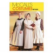 McCalls Ladies Sewing Pattern 7220 Historical Pioneer Costumes