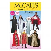 McCalls Ladies & Mens Sewing Pattern 7225 Tunic & Cape Costumes