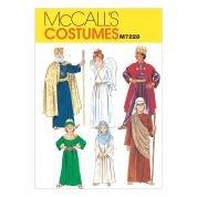 McCalls Childrens Sewing Pattern 7228 Christmas Nativity Costumes