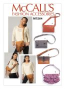 McCalls Accessory Easy Sewing Pattern 7264 Bags with Convertible Strap