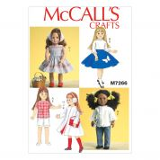 McCalls Craft Easy Sewing Pattern 7266 18