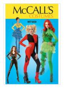 McCalls Ladies Easy Sewing Pattern 7269 Bodysuits & Ruffled Skirt Costumes