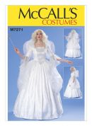 McCalls Ladies Sewing Pattern 7271 Fairy Princess Costume with Wings