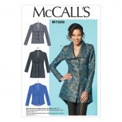 McCalls Ladies Easy Sewing Pattern 7288 Fitted Unlined Jackets with Cup Sizes