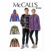McCalls Ladies & Mens Easy Sewing Pattern 7298 Sweater Tops & Jackets