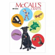 McCalls Pets Easy Sewing Pattern 7303 Dogs & Pets Toys