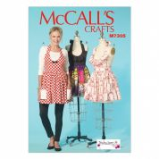 McCalls Ladies Easy Sewing Pattern 7305 Aprons in 3 Styles