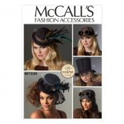 McCalls Ladies Sewing Pattern 7335 Hats in 5 Styles