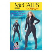 McCalls Ladies Easy Sewing Pattern 7340 Zippered Bodysuit