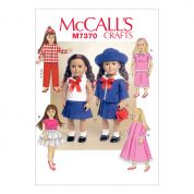 McCalls Craft Easy Sewing Pattern 7370 Retro Outfits