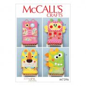 McCalls Homeware Easy Sewing Pattern 7396 Animal Motif Chair Covers & Seat Cushions