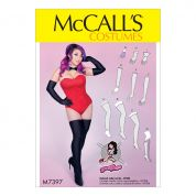 McCalls Ladies Easy Sewing Pattern 7397 Gloves, Arm & Leg Warmers, Stockings & Boot Covers