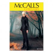 McCalls Ladies Sewing Pattern 7456 Seamed Jacket, Stirrup Leggings & Cape