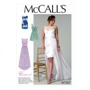 McCalls Ladies Sewing Pattern 7507 Mix & Match Sweetheart Dresses