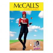 McCalls Ladies Sewing Pattern 7556 Cropped Sweatshirts & Princess Seam Rompers