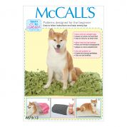 McCalls Pets Easy Learn to Sew Sewing Pattern 7613 Pet Beds